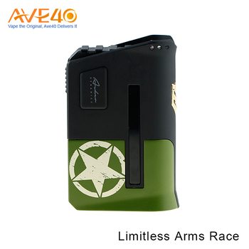 New arrival Limitless Arms Race 200W Box Mod Fits Dual 18650 Batteries