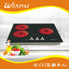 3 burners built-in electric cooker kitchen appliance