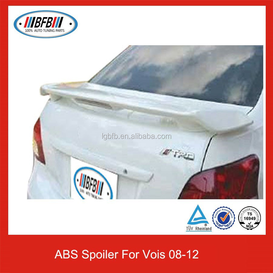 REAR SPOILER WITH LED BREAK LIGHT FOR TOYOTA VIOS 2008-2012 SPOILER