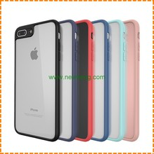 High quality ultra thin clear tpu bumper phone case for iphone 7