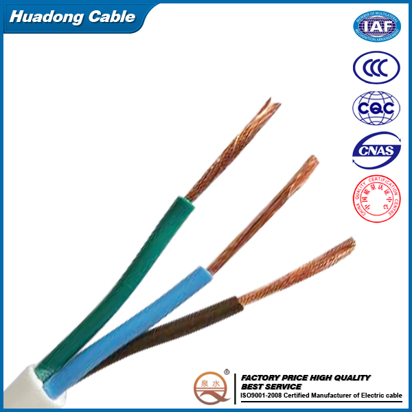 450/750V copper PVC insulated electrical cable <strong>wire</strong> and cable
