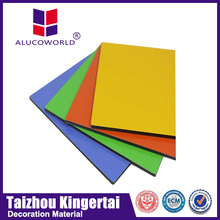 Alucoworld Perfect Product! outdoor sign board aluminum composite roof panel