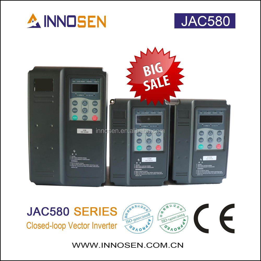 Japan original Yaskawa Frequency Converter Ac 5.5KW VFD