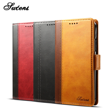 luxury design card holder flip leather wallet cell phone cases for iphone X case