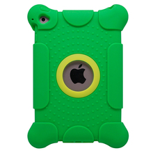 Rubber Gel Protective Silicone Tablet Case For iPad 2/3/4