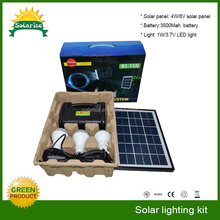 Small home fm/am led solar lantern