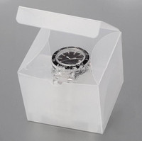 transparent plastic packaging seiko funky italy style watch box