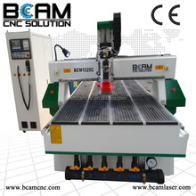 9.0kw air cooling Italy HSD spindle cnc router machine wood furniture carving cnc router machine vacuum table with good price