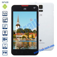 ZTE U887 5 inch Android 2.3 Smartphone (Single Core 1.2 GHz/3G/Dual Sim Dual Mode/Support GPS Bluetooth Wifi
