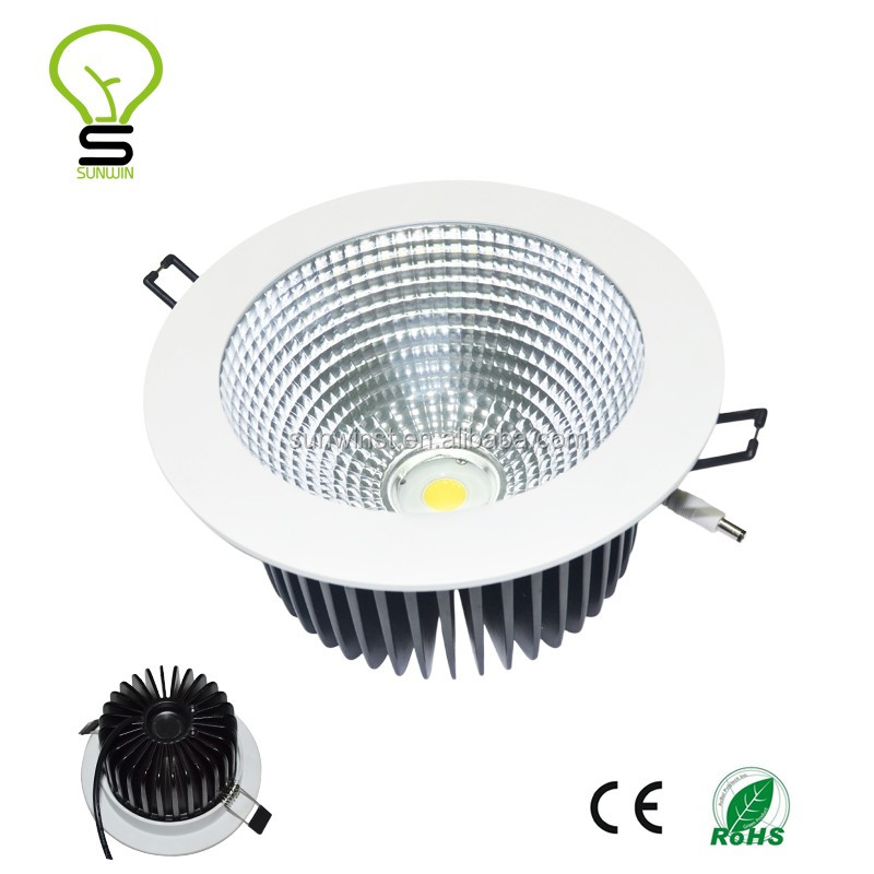 110mm Led Dimmable <strong>Downlight</strong> White 9W 12W 15W 18W 20W Cob Led Recessed <strong>Downlight</strong>