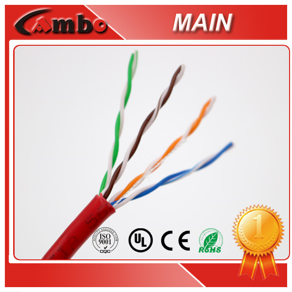 For Date Transited Supply CAT5E Lan Cable 0.48MM 0.5MM CCA BC