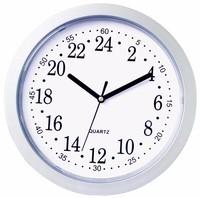 Promotional Wall Mounted Clock China Quartz 24 Hour Analog Wall Clock
