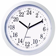 Promotional Wall Mounted Clock China Quartz 24 Hour Analog Wall Clock