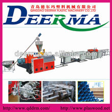 pvc pipe making extruders/65mm pvc pipe extrusion machine