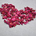 Bulk Dried Red Rose Petals for Wedding scenes