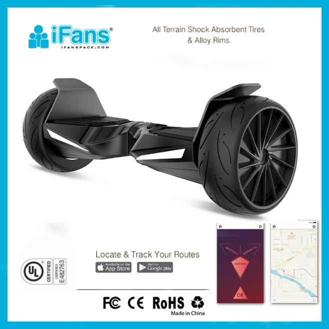 8.5 inch UL2272 auto-balancing hoverboard,with All-Terrain dual-wheels,LG battery,BT & APP remote & LED light
