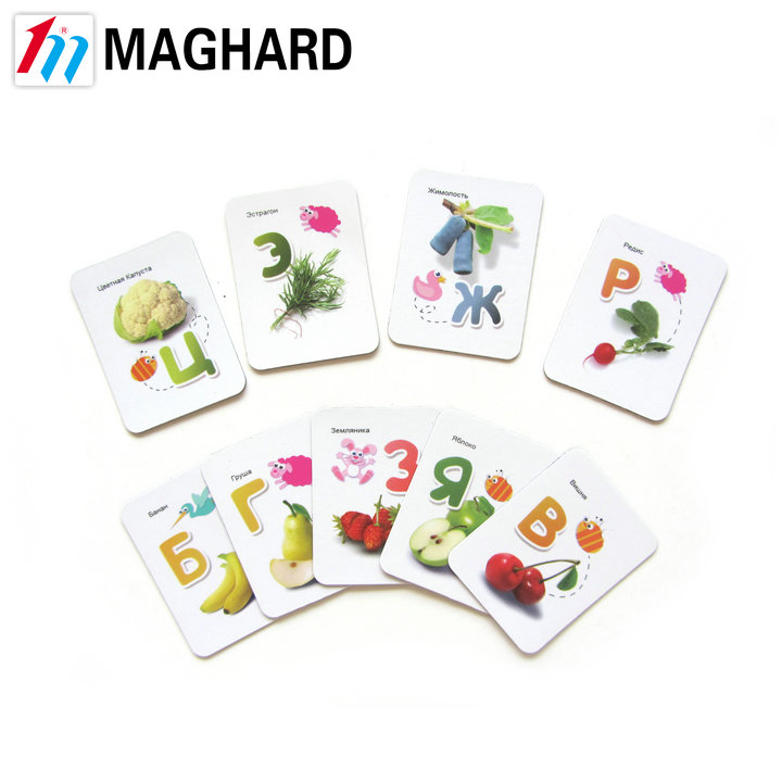 newest fruit alphabet letter refrigerator/fridge magnet