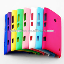 Luxury Hard Plastic Back Skin Colorful case cover for Nokia Lumia 520 free shipping wholesale