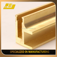 best price any shapes windows channel brass profiles window channel