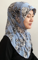 muslim one peice hijab islamic scarf assorted colors ML0139