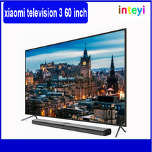 "100% Original Xiaomi MI TV 3 60"" Smart TV 3840*2160 Ultra HD English Interface Real 4K Screen Quad Core Household Smart TV"