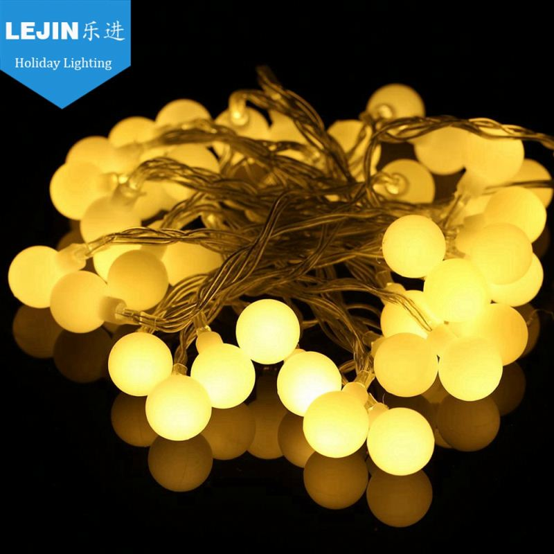 ball garden decorative solar led string lights outdoor