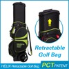 hot sale waterproof golf bag with speakers double strap
