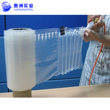 wine bottle fill Air Inflatable Rolls Bag Packaging Material Cushion in Column bubble Bag