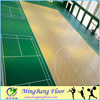 China supplier Moisture-proof antislip indoor PVC basketball sports court flooring