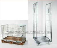pallet wire cage and roll tainers