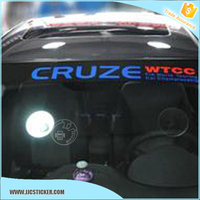 For custom pvc windshield stickers