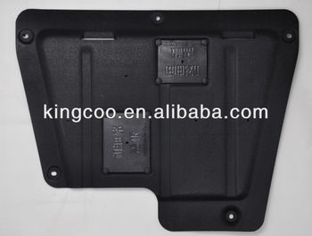 specially customised Alloy steel engine protection shield