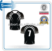 authentic polyester rugby sports jersey plus size