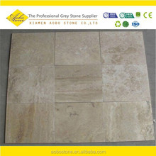 Tumbled Beige French Pattern travertine ,travertine stones