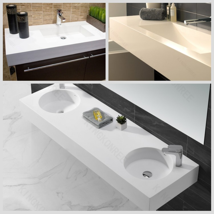 Vanity Countertops Product : Banjo vanity top solid surface bathroom countertop buy