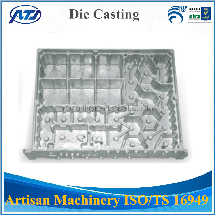 Custom Made Aluminum Die Casting Parts , Telecom Box