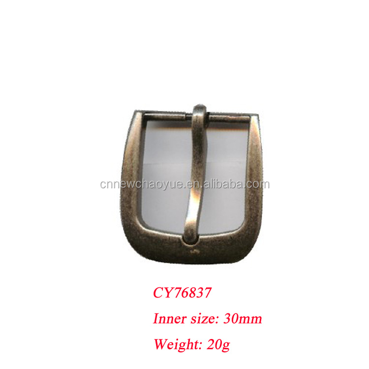 Hot sale custom metal belt buckle , 30MM pin buckle