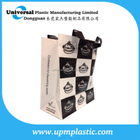 customized soft loop handle bag pack for file