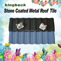 roofing materials colorful stone coated steel roof tile sand coated roofing