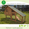 Outdoor portable new design natural color wooden chicken houses