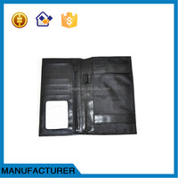 Genuine leather checkbook Cases, check wallet,passport wallet