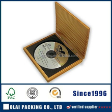 Luxury carved wooden DVD case gift
