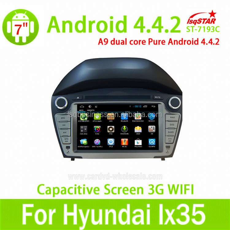 2014 android 4.4 hyundai tucson/ ix35 car dvd with mirror link