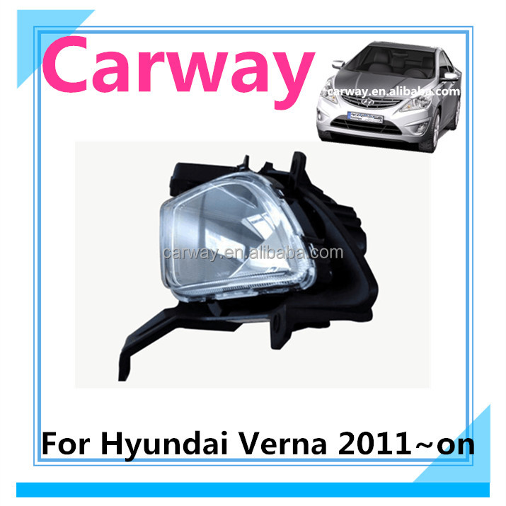 Fog light for Hyundai Verna 2011 car accessory auto parts