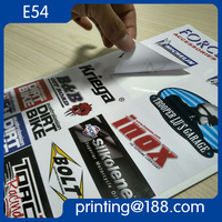 Adhesive Sticker Label Sheet, Adhesive Vinyl Sticker, Adhesive PVC Label Sticker Printing