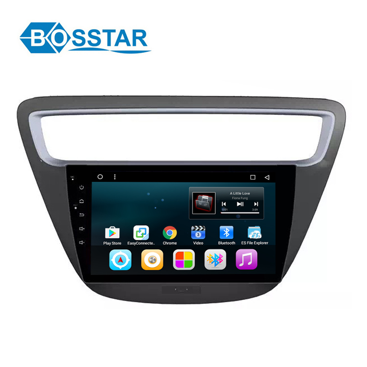 Double din in dash car audio dvd for Chevrolet Lova Touch screen dvd media inside GPS
