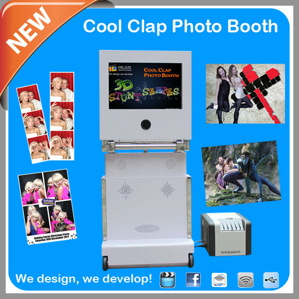 new pop products self- Service Vending Machine Good For Photo Booth Rental