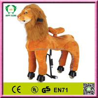 Promotional toy horse on wheels,horse toy to ride,adult ride on toys