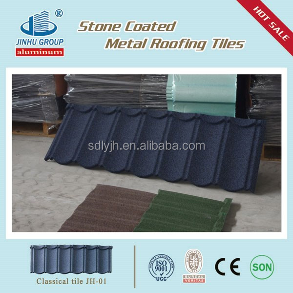 Cheap Price & High Quality Sand Coated Metal Roofing Tiles in sierra leone