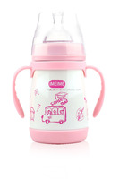 200ML high quality food grade stainless steel baby feeding bottle